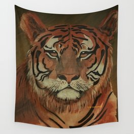 """ Tiger "" Wall Tapestry"