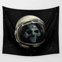 Holy Starman Skull II Wall Tapestry
