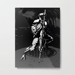 TMNT Donny Metal Print