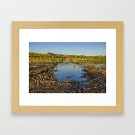 Pentecost River Crossing Framed Art Print