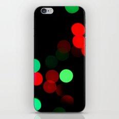 Christmas Bokeh iPhone & iPod Skin