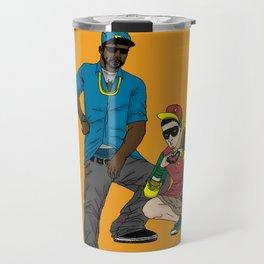 B-Man And Robbin' Travel Mug