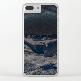 Remarkable Rocks Clear iPhone Case