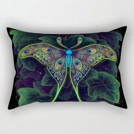 Peacock Moth Rectangular Pillow