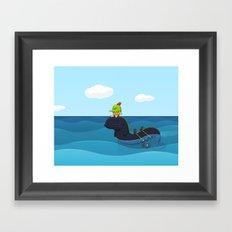 Game Hunter Framed Art Print