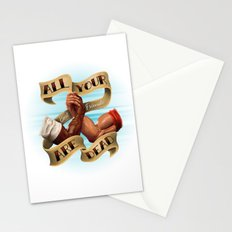All Your Best Friends Are Dead Stationery Cards