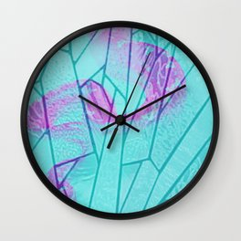 the snake window Wall Clock