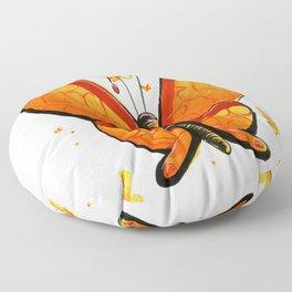 Flutter Butter Floor Pillow
