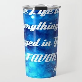 Everything Is Rigged - Rumi Inspirational Quote Travel Mug