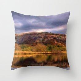 Enchanted Rock Throw Pillow