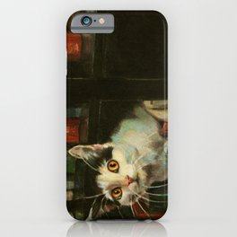 The Writer's Cat iPhone Case