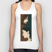 aragorn Tank Tops featuring Arwen and Aragorn by cos-tam