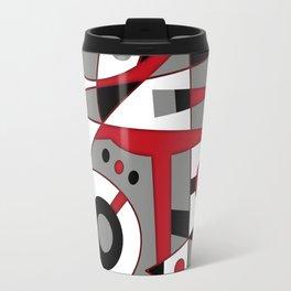Abstract #979 Travel Mug