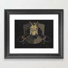 Dog Costume Art Framed Art Print