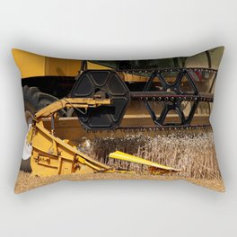 Combine harvester in detail Rectangular Pillow
