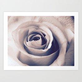 White Surrexerunt Art Print