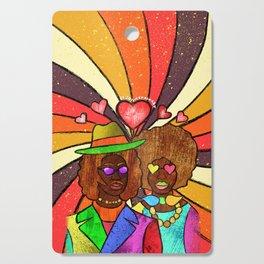 70's Love Cutting Board