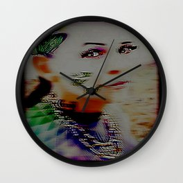Butterflies and Candy 04-05 Wall Clock