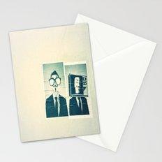 Split personality Stationery Cards