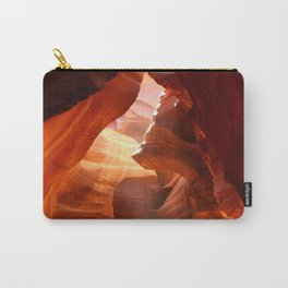 A Canyon Sculptured By Water Carry-All Pouch