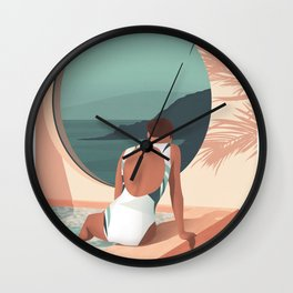 Stay at home Wall Clock