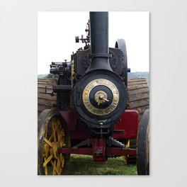 Steam Power 1 - Tractor Canvas Print