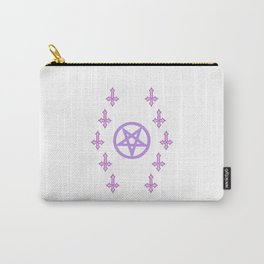 PENTARAM AND INVERTED CROSS Carry-All Pouch