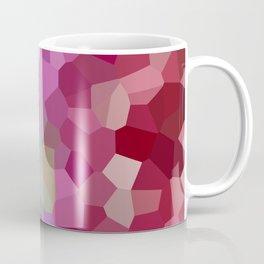 Pixels - Winter Garden of Pink Stars Coffee Mug
