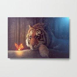Tigers Dream Metal Print