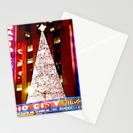 Radio City Music Hall Tree 2 Stationery Cards