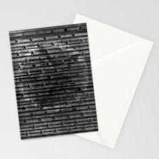 Black Stars & Black Stripes Stationery Cards