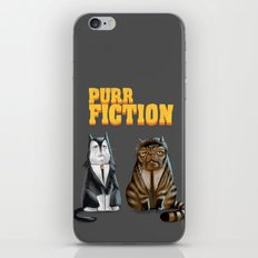 Purr Fiction iPhone & iPod Skin