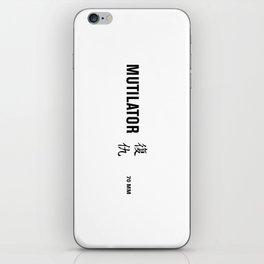 mutilator iPhone Skin