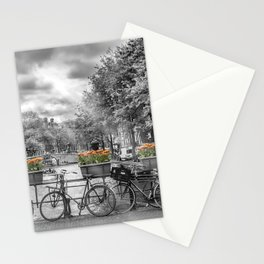 AMSTERDAM Gentlemen's Canal | panoramic view Stationery Cards