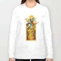 the legend of zelda Long Sleeve T-shirts featuring Legend of Zelda by bozrat
