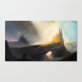 The Twin Fortresses Canvas Print