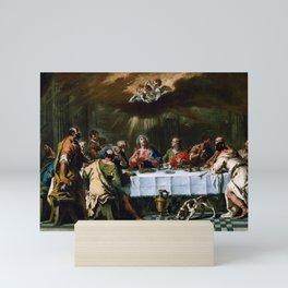 Sebastiano Ricci - The Last Supper Mini Art Print