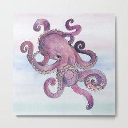 Sea Octopus Metal Print