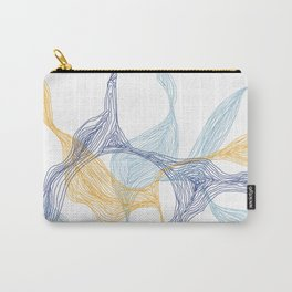 Lost in Lines [WHITE] Carry-All Pouch