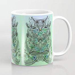 Little Birds and big brother Owl Coffee Mug
