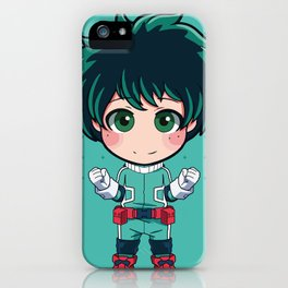 Midoriya Izuku Deku iPhone Case