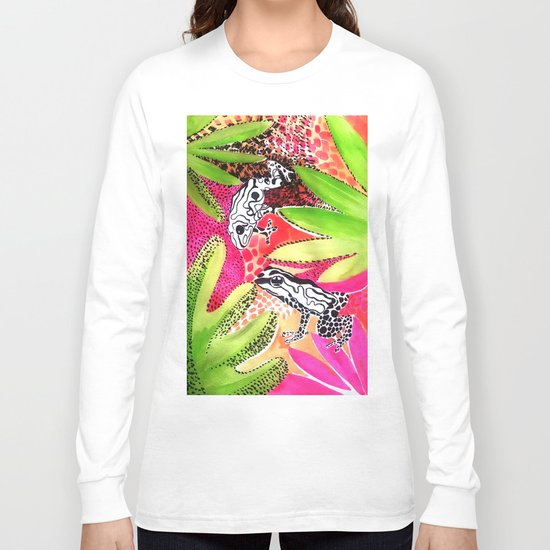 Happy Frogs Long Sleeve T-shirt
