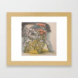 The Beast - 01 Framed Art Print