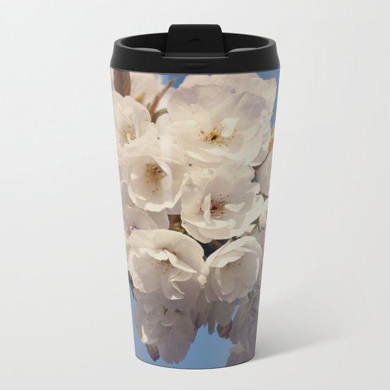 Hello Spring #2 Metal Travel Mug