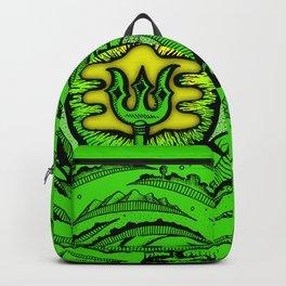 Eye of an Incarnation Green Backpack