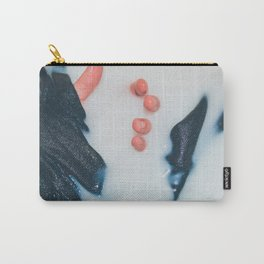 White Space Carry-All Pouch