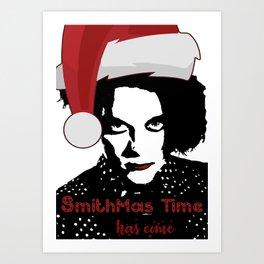 Robert Smith Christmas The Cure Art Print