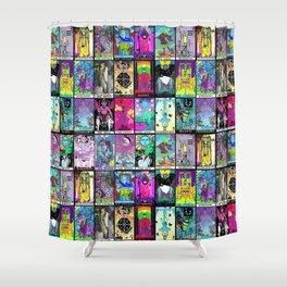 Tarot Major Arcana Shower Curtain