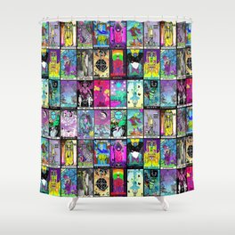 Tarot Major Arcana Shower Curtain