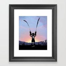 Punisher Kid Framed Art Print